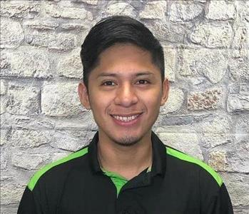 A photo of Josue, a technician here at SERVPRO of Media and SERVPRO of Central Delaware County